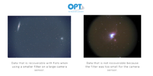 Astrophotography Camera Filter